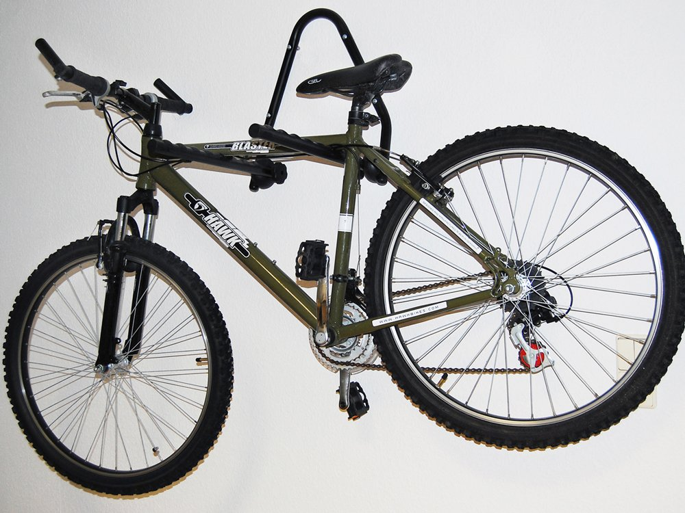 Soporte de pared para 3 bicicletas EUFAB 16404