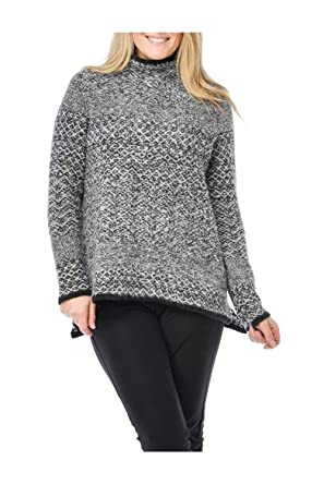 Habitat Clothes Snowflake Funnel Sweater At Amazon Women S Clothing