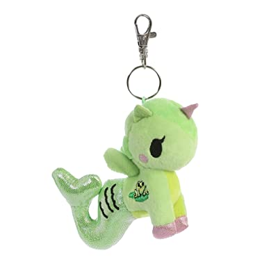 tokidoki 60929 Lilypad Mermicorno Key Clip 4.5In Green: Toys & Games