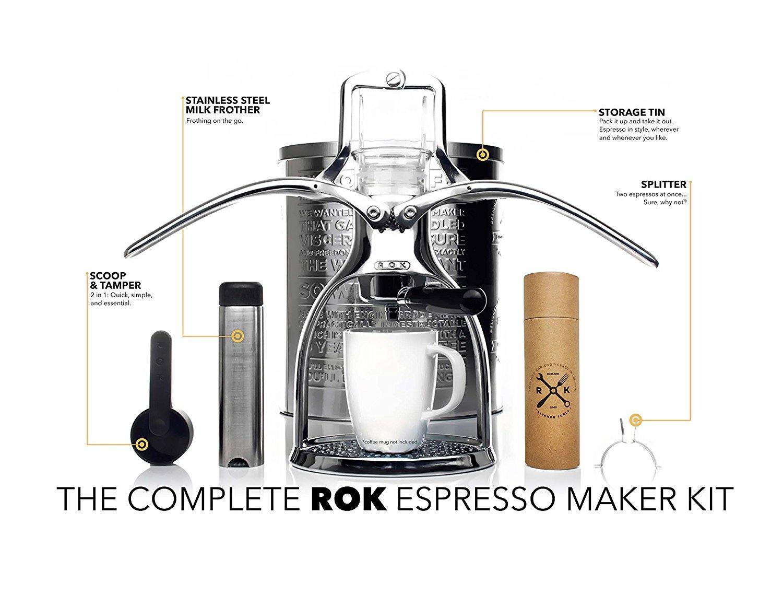 Cafetera ROK Espresso: Amazon.es: Deportes y aire libre