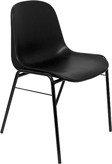 Piqueras Y Crespo PACK423NE - Pack de 4 sillas de oficina, Negro ...