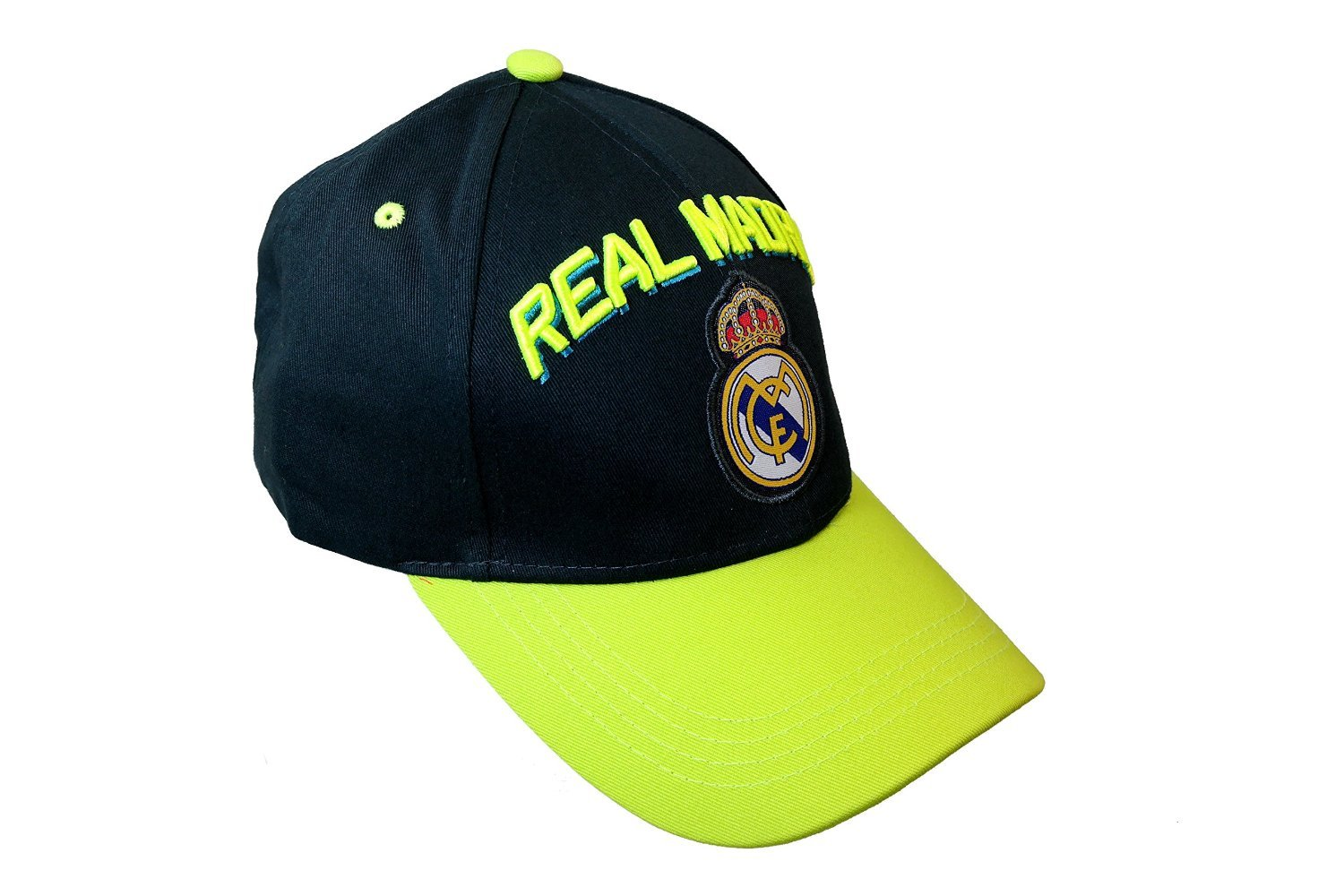 Amazon.com : Real Madrid Spain Soccer Sun Buckle La Liga Curved Bill Gorra White Hat Cap : Sports Fan Baseball Caps : Sports & Outdoors