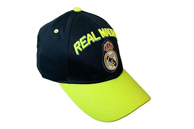 Amazon.com : Real Madrid Spain Soccer Sun Buckle La Liga Curved Bill Gorra White Hat Cap : Sports Fan Baseball Caps : Sports & Outdoors