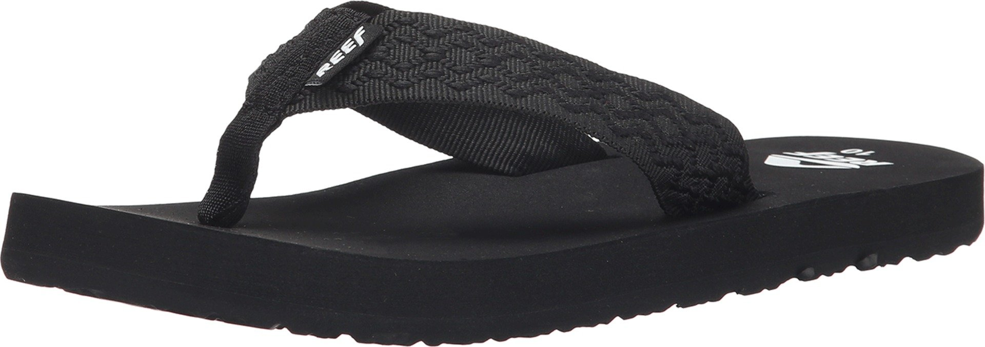 Reef  Men's Smoothy  Sandals , Black/Black-5 D(M) US
