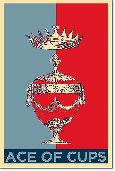 uk availability a52cc 80be9 Amazon.com: Introspective Chameleon Ace of Cups (Tarot Card ...