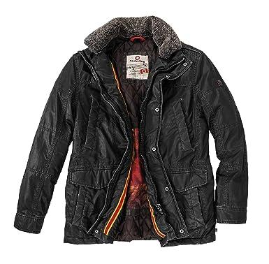 super popular 5888c 547c5 Redpoint XXL schwarze Übergangsjacke Bud: Amazon.de: Bekleidung