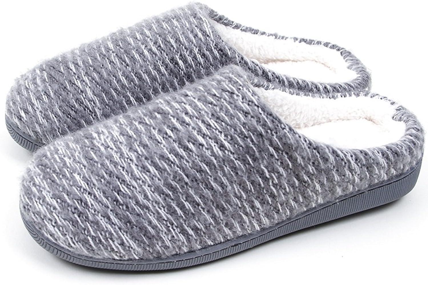 Zapatillas Algodón de Mujer Gruesa de Invierno casa Preciosa ...