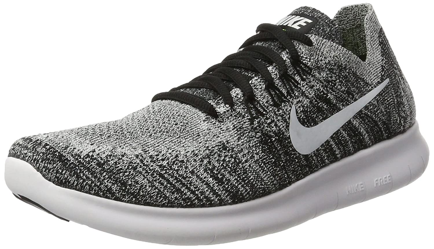 low priced ce8e9 432a6 Amazon.com | Nike Women's Free Rn Flyknit 2017 Ankle-High ...