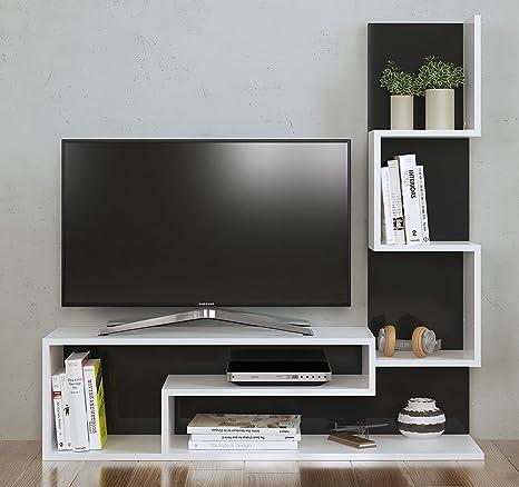 MIMOSA Set Soggiorno - Mobile TV Porta con mensola in moderno design ...