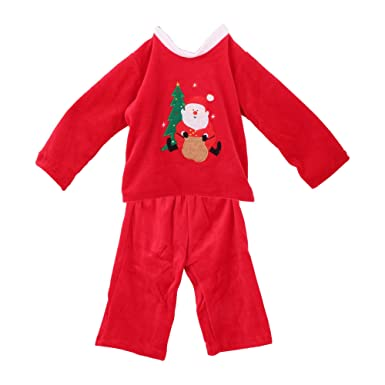 christmas shop childrenskids christmas pyjamas 2 3 us red - Childrens Christmas Pyjamas