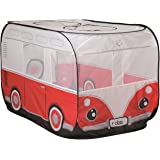 Roba Pop Up Play Tent Children Tent Play Bus Retro Bus Large Bag