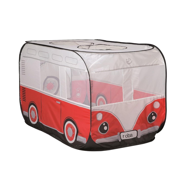roba Spielbus, Pop-Up Spielzelt, Kinderzelt 'Retro Bus' gross, inkl. Tasche ROBA Baumann GmbH 98353