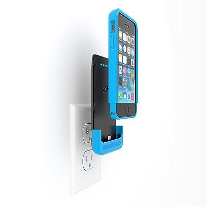 Amazon.com: Prong PWR Caso iPhone 1500 mAh Cargador de ...
