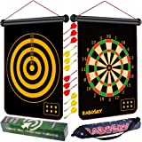 Rabosky Magnetic Dart Board for Kids, Safe Dart Game Toy for Age 6 7 8 9 10 11 12 Year Old Boys, 12PCS Magnetic Darts