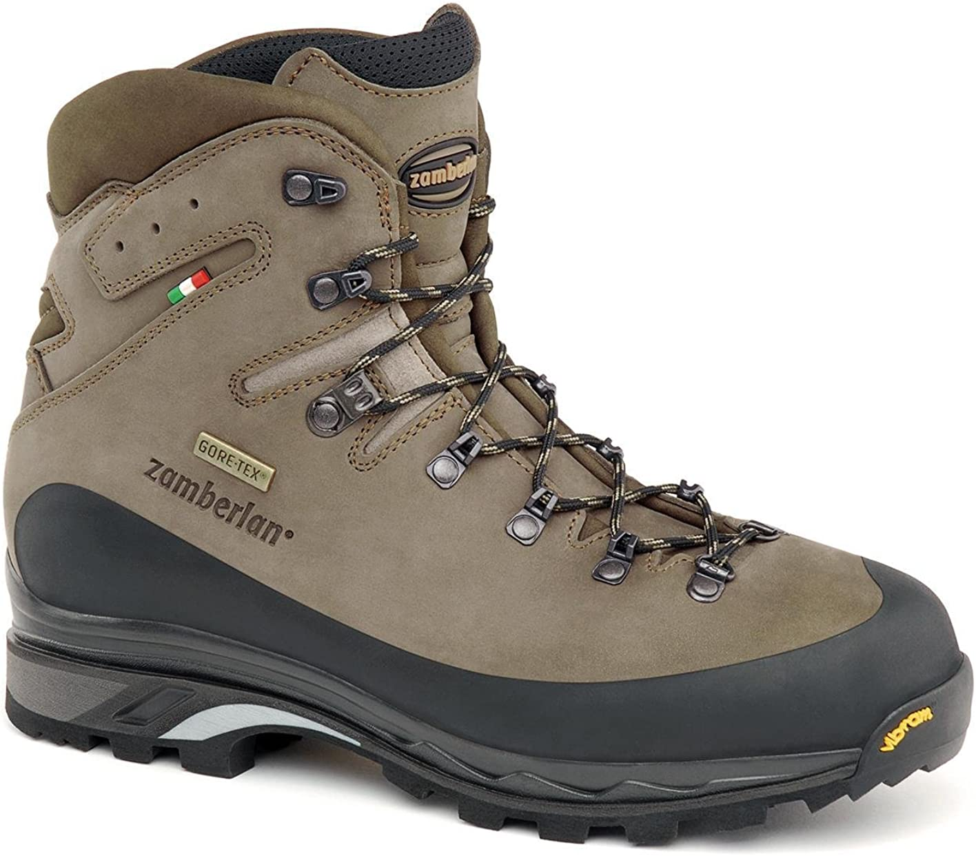 Zamberlan Men s 960 Guide GTX RR Brown Leather Backpacking Boots