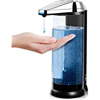 Secura 17oz / 500ml Premium Touchless Battery Operated Electric Automatic Soap Dispenser w/Adjustable Soap Dispensing…