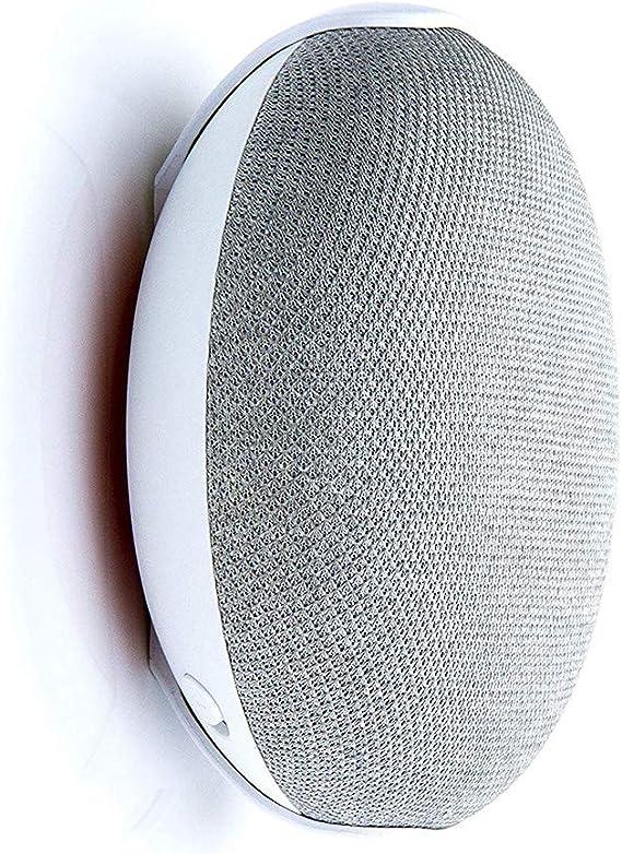 Adecuado para Cocina//ba/ño//Dormitorio TaiRi Gancho de Soporte de Montaje en Pared Enchufe de Soporte Compacto para Google Home Mini Voice Assistant
