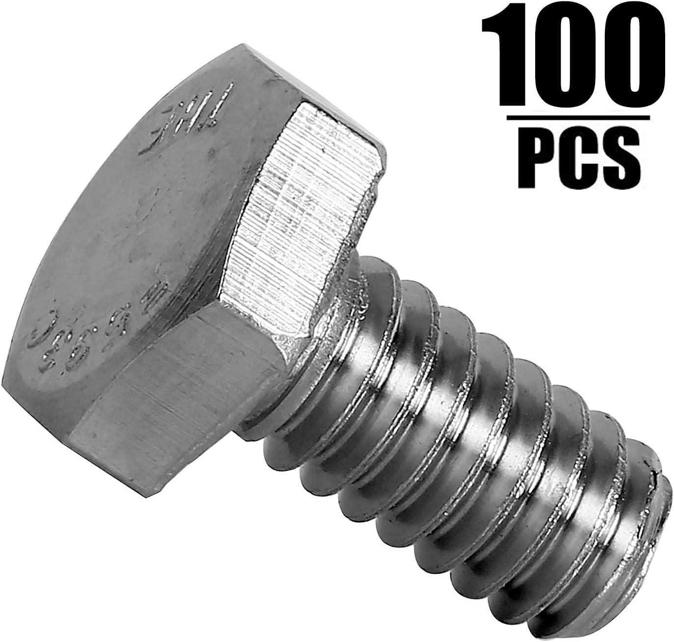 Thread Size M10-1.5 FastenerParts Set Screw 18-8 Stainless Steel