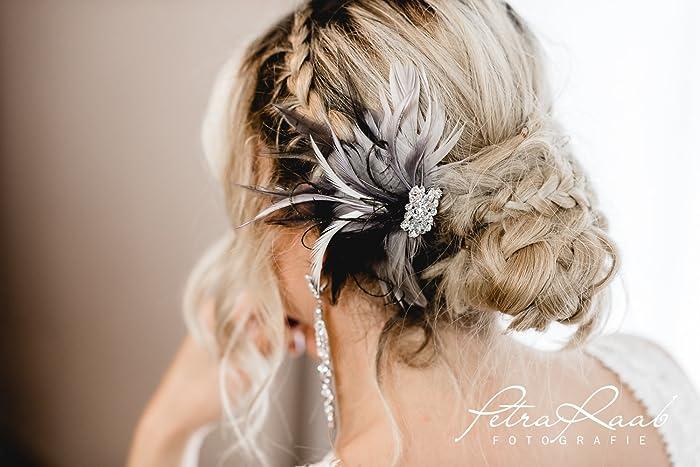 N32 Brautschleier Wedding Hairstyles Boho Frisur Vintage Braut 2018