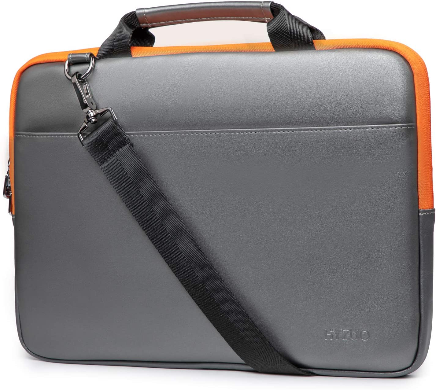 HYZUO 13-13.5 Inch Laptop Sleeve Handbag with Shoulder Strap Compatible with MacBook Air 13 M1/MacBook Pro 13 M1/iPad Pro 12.9/13.5 Inch Surface Laptop/Book/Dell Inspiron 13/HP ENVY 13/Asus Zenbook 13