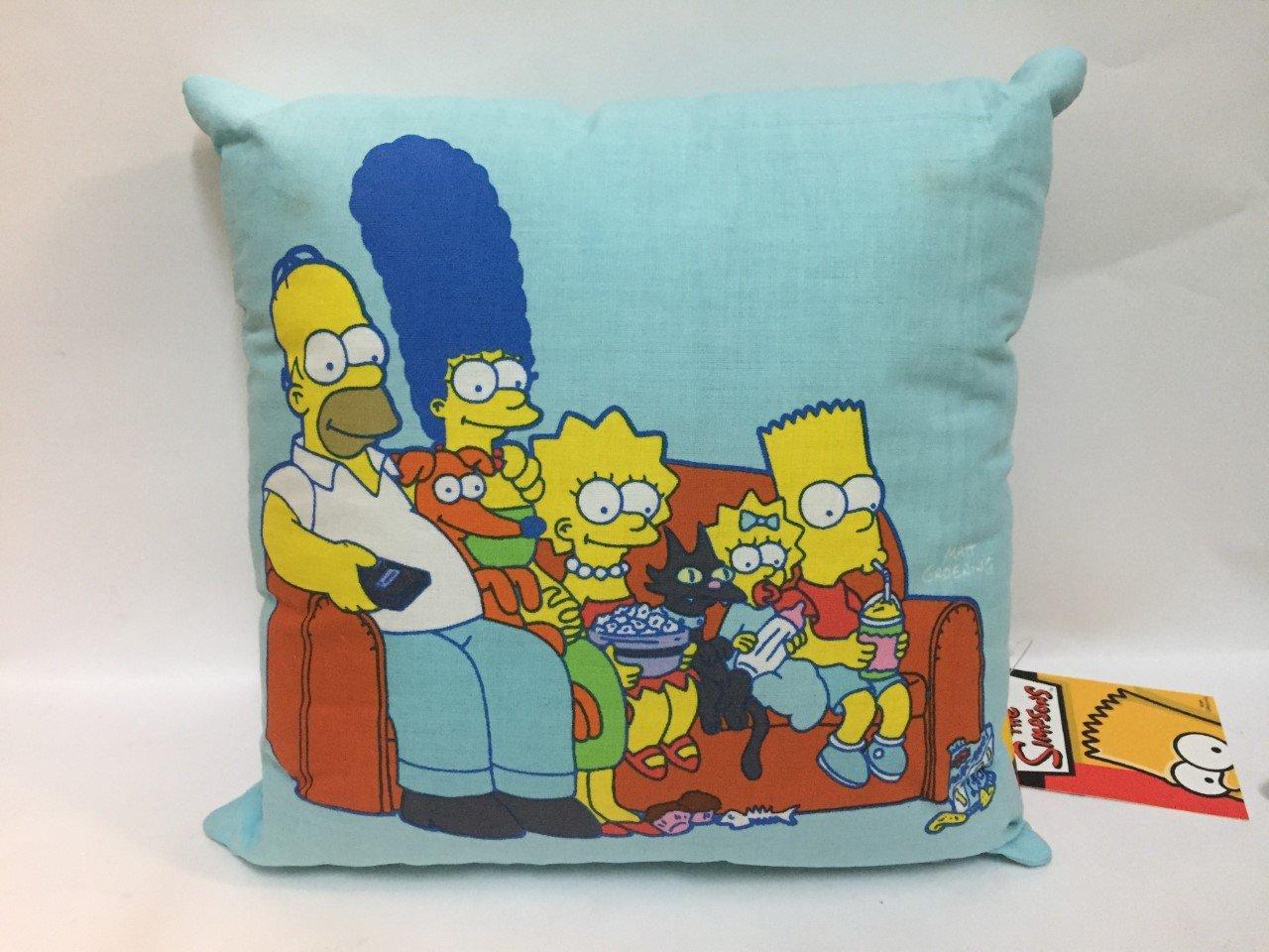 Arredamento e forniture scuola prima infanzia Mis.25X25 Pentole e padelle UNITEDLABELS Cuscino The Simpsons 100% Official