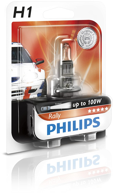 100 W Ring Automotive PU12258RA H1 P14.5s Philips Rally Halogen Headlamp 12 V
