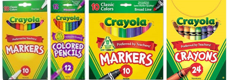 Crayon and Pencil Bundle Set Crayola Marker