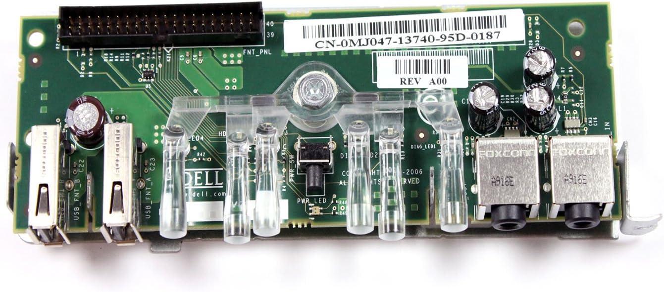 Genuine Dell Power Board For Dell Optiplex GX620 and Dimension 5150 / E510 Small Mini Towers (SMT) Part Number: MJ047