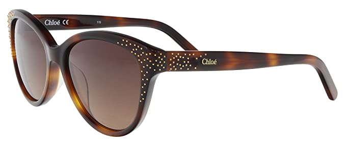 a1f3ee5a0fcb Image Unavailable. Image not available for. Color  Chloe CE3605S 219 Tortoise  Cat Eye Sunglasses ...