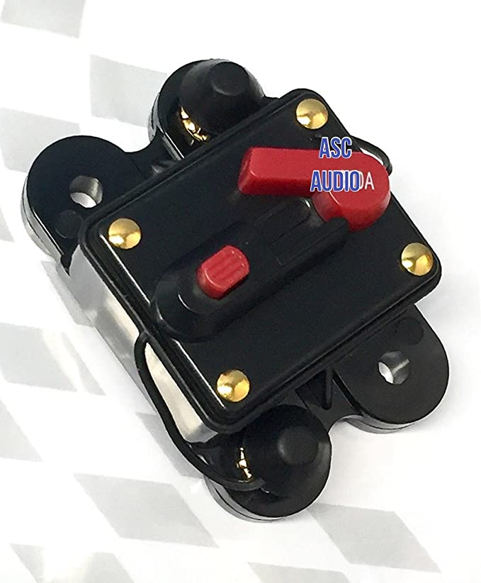CB60 MinnKota Compatible Trolling Motor 60 Amp Fuse Marine Auto Circuit Breaker