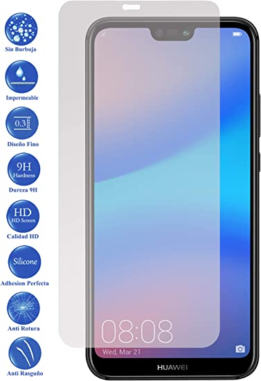 Todotumovil Protector de Pantalla Huawei P20 Lite de Cristal ...