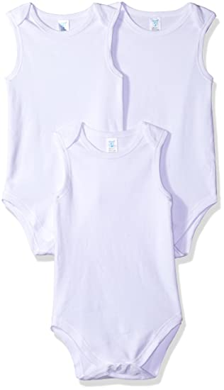 e90f14a0a Amazon.com  Spasilk 3 Pack Sleeveless Bodysuit