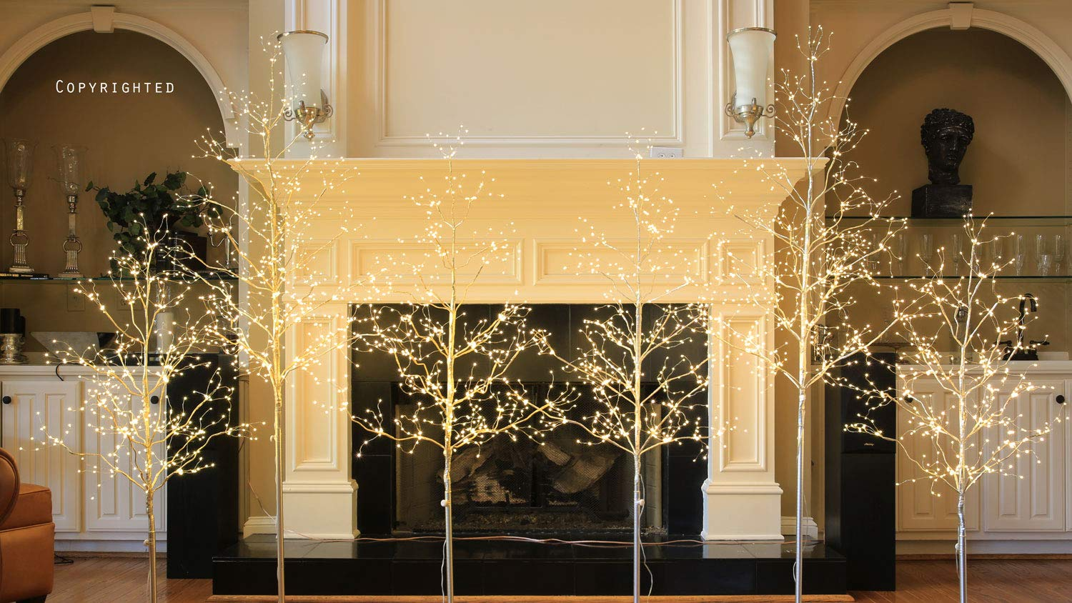 Lightshare-5-ft-LED-Tree-Starlit-Tree-Collection-5-feet-Warm-White