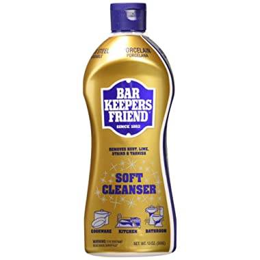 Bar Keepers Friend Soft Cleanser Premixed Formula | 13-Ounces | (2-Pack)