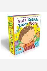 Buzz, Splash, Zoom, Roar!: 4-book Karen Katz Lift-the-Flap Gift Set: Buzz, Buzz, Baby!; Splish, Splash, Baby!; Zoom, Zoom, Baby!; Roar, Roar, Baby! Board book