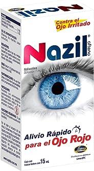 Nazil Ofteno gotas 15 ml, Alivio Rápido del Ojo Rojo