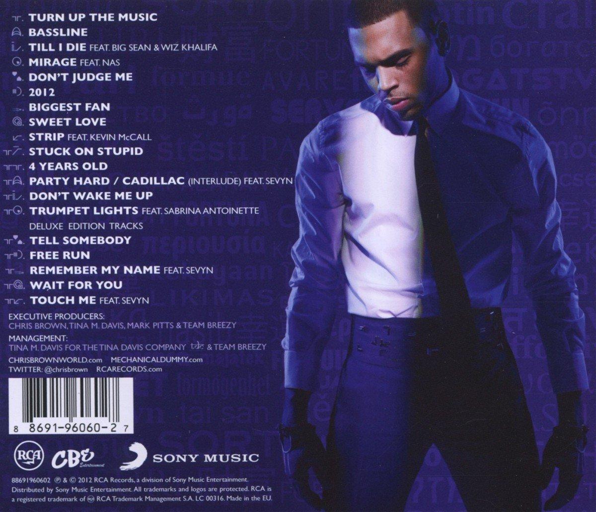 Chris Brown Fortune Deluxe Edition Zip Zippy