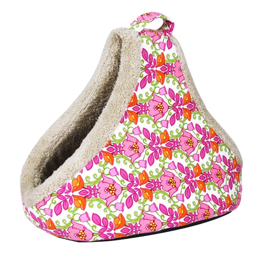 Multi-colord Home Wind Pet Room Cat Litter Kennel Dog House Basket Type Out Pocket (color   Multi-colord)