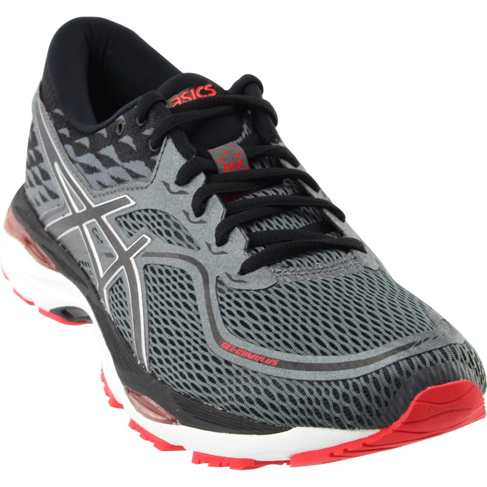 ASICS Men's Gel-Cumulus 19 Running Shoe B077FFH4GQ 12 D(M) US|Black/Carbon/Red