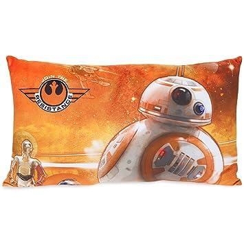 Star Wars BB-8 cojín naranja 50x30cm: Amazon.es: Juguetes y ...