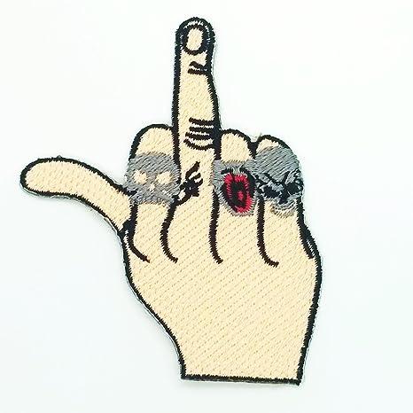 Parche de tatuaje para ciclista con diseño de medio dedo, chaqueta ...