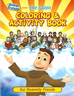 The Saints Brother Francis Coloring Activity Book Heaven