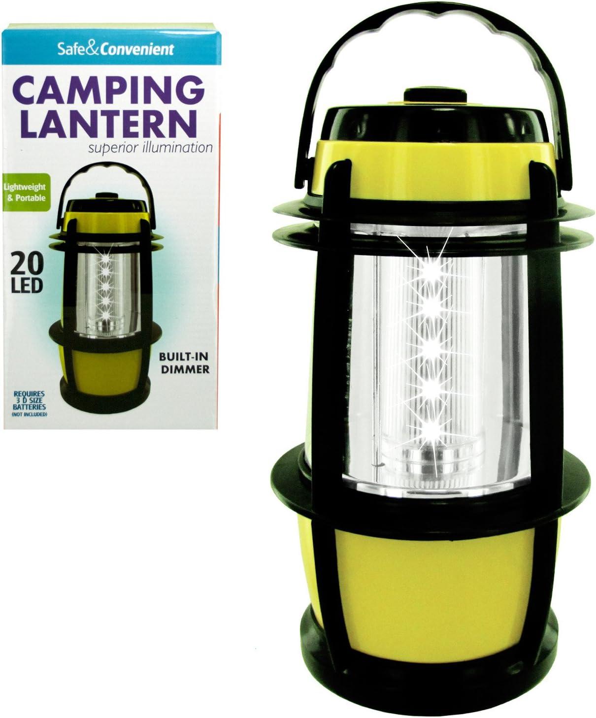 Kole Imports OB949 20 LED Camping Lantern