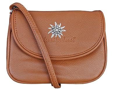 Trachten Tasche Handtasche Mit Edelweiss Beige 3968 Amazon De