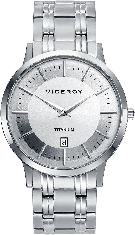 Reloj Viceroy Luxury 471035-17 de hombre en titanio.