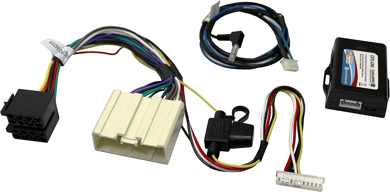 12V Acc Output Autoleads CP2-MZ23 Mazda Steering Wheel Control Interface Adaptor-Car Audio Installation Accessory-Easy to Use and Time Saving-Works on Analog and Data SWC Systems-Provides 2 Amp