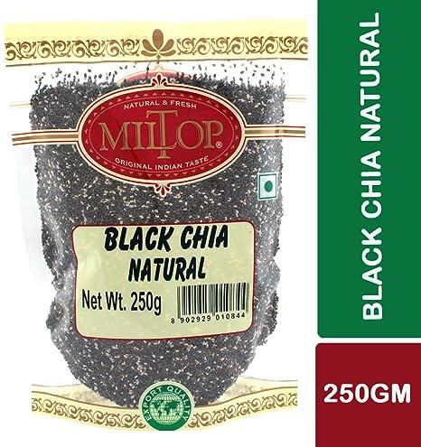 Miltop Black Chia Natural, 250g