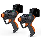 2-pack HEX3 AppTag Laser Blaster for iPhone, iPod Touch, and Android Phones (Fits most Nerf Blasters)