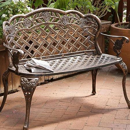 Lf Chair Banco De Jardín Aluminio Fundido Asiento De Jardín