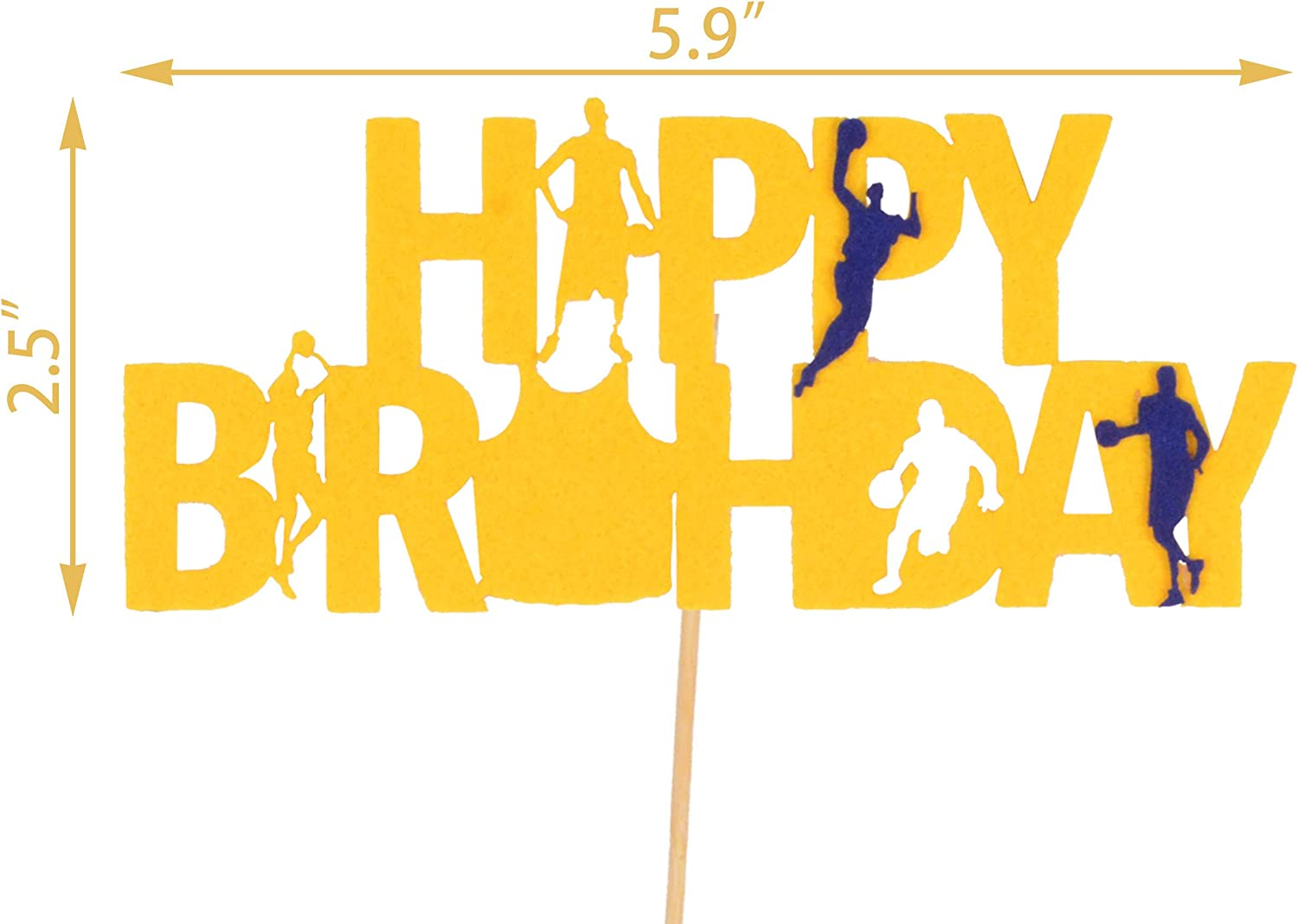 Cute Happy Birthday Basketball Banners for boys Sports Theme Birthday Basketball Theme Party Decorations Happy Birthday Bunting Sign Garland Basketball Theme Happy Birthday Banners